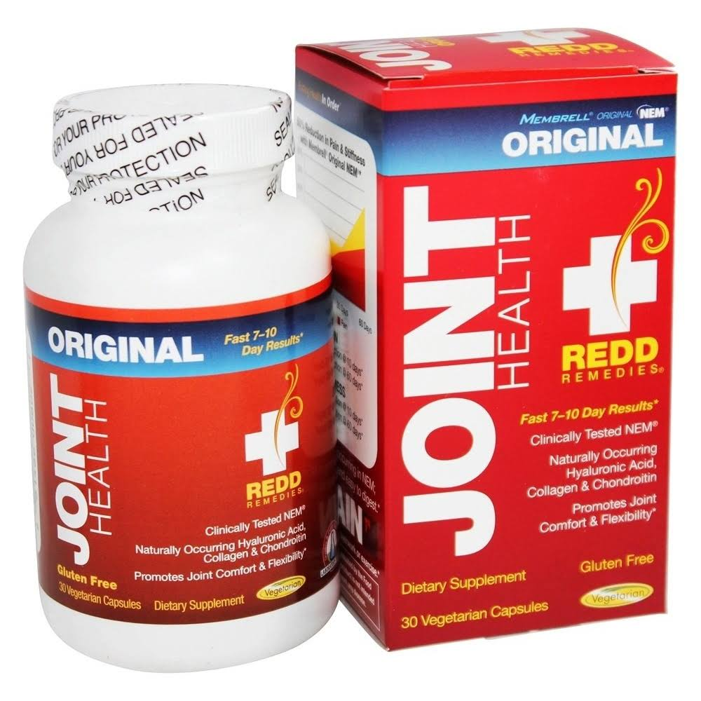 Redd Remedies Joint Health - 30 Vegetarian Capsules