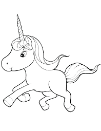 Unicorns Coloring Pages Unicorn Horse Page Pink Fluffy Book Together With