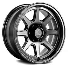 100 16 Truck Wheels XD SERIES XD301 TURBINE Satin Black Rims