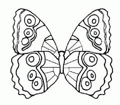 Endless Creati New Picture Free Butterfly Coloring Pages Printable