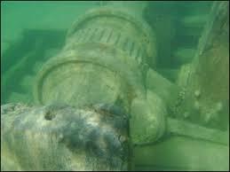 Edmund Fitzgerald Sinking Location by Georgian Bay Shipwrecks Shipwreck Scuba Diving Tobermory Wreck