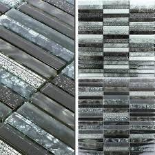 details zu mosaikfliesen glas kairo glitzer wand boden bad bordüre verkleidung badezimmer