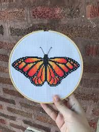 100 Pigeon Coop Plans FO Monarch Butterfly Pattern By Designs On