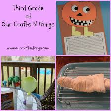 Halloween Picture Books For Third Graders by Our Crafts N Things Pumpkins