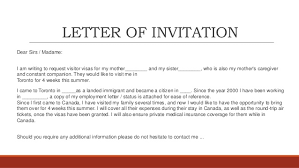 Best s B2 Visa Invitation Letter Sample B1 Visa Invitation