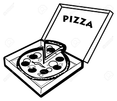 1300x1119 Best Pizza Clipart Black And White