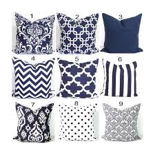 24 X 24 Patio Cushion Covers by Navy Blue Pillows 24x24 Inch Decorative Pillow Cover Home Decor