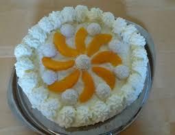 raffaello pfirsich torte