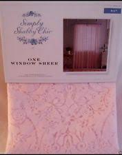 Simply Shabby Chic Curtains Pink Faux Silk by Simply Shabby Chic Sheer Ebay
