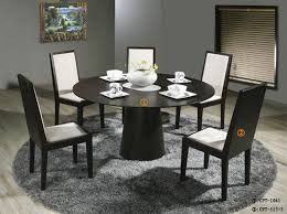 contemporary dining table set vg83 modern round room sets