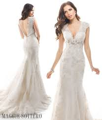 friday favorite almudena lace a line wedding dress