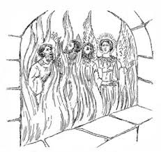 Coloring Pages Fiery Furnace