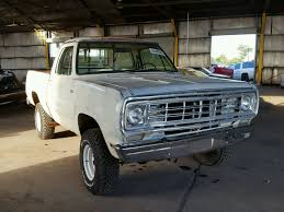 1976 Dodge Truck For Sale At Copart Phoenix, AZ Lot# 50300508