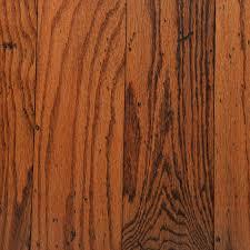 Gunstock Oak Hardwood Flooring Home Depot by Bruce Distressed Oak Toast 3 8 In Thick X 5 In Wide Random