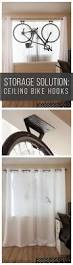 Racor Ceiling Mount Bike Lift Instructions by Best 25 Bike Storage Solutions Ideas On Pinterest Shed Storage