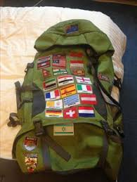 Sew Patches On To Your Backpack In Every Country You Go If Have No