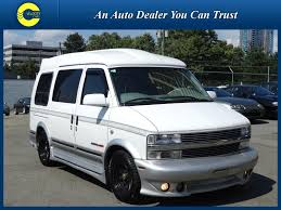 1997 Chevrolet Astro Starcraft Camper Van For Sale In Vancouver BC Canada