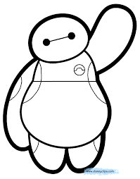 Free Printable Coloring Page Easter Pages Big Hero 6 Disney