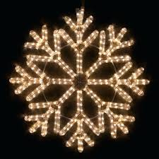 Awesome Snowflake Outdoor Lights And Medium Size Snowflakes