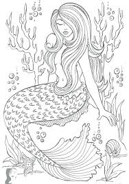 Mermaid Coloring Page Barbie Little Pages Melody Online Tail