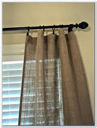Smocked Burlap Curtain Panels by How To Make Burlap Curtains With Grommets Memsaheb Net