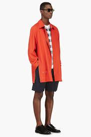 black down wrap collar coat phillip lim