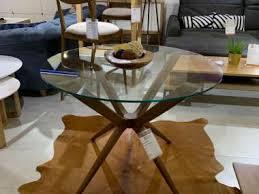 esstisch glastisch rund