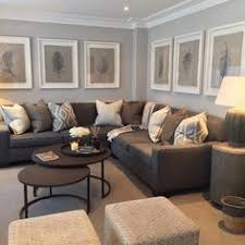 Dark Brown Couch Living Room Ideas by Grey Couch Beige Wall Brown Carpet Living Room Pinterest