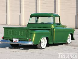 1956 Chevy Truck - Emerald Beauty - Hot Rod Network 1956 Chevy Apache Nikki Bunn Lmc Truck Life Quick 5559 Chevrolet Task Force Truck Id Guide 11 Hot Rods Cabs The Hamb 195556 Grille Trucks Grilles Trim Car Parts Emerald Beauty Rod Network 56 Chevy Parked On A Bluff Overlooking Medina Lake Pickup Lost Wages Pickup Pinterest Cars Classic Trucks And Gmc I Had Chick Friend In High School Whos Dad Built Her Gm 195559 Gm Dont See Chopped Top Step Side Very Often Stepside Runs Drives Original Or V8