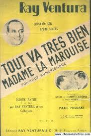 madame la marquise lyrics chansons retros