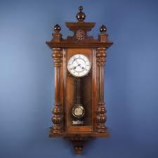 100 Mauthe Antique German FRIEDRICH MAUTHE Vienna Regulator Wall Clock