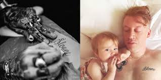 Celebrity Tattoos 17 Celeb Parents With A Kid Inspired Tattoo