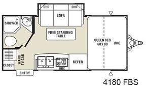 Bright Inspiration 11 Floor Plans Small Travel Trailers Roaming Times
