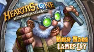 hearthstone deck list mech mage gameplay hearthstone ranked 1 mech mage decklist mago mech