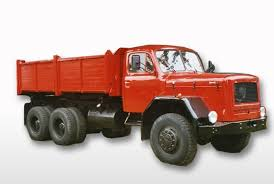 100 Side Dump Truck MAGIRUS DEUTZ 3axle 2side D230 Red