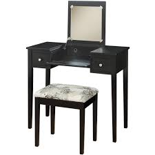 Fascinating Bedroom Makeup Vanity With Lights Black Table Picture White For Style And Rustic Ideas