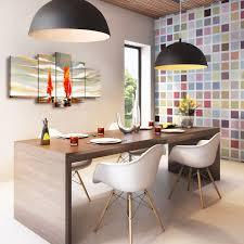 esszimmer dekorieren stilvolle wanddekorationen bimago