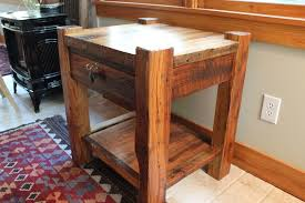Rustic Nightstand For All Taste