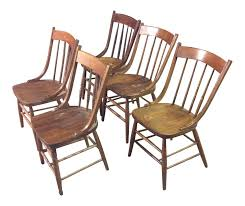 Set Of 5 Early American Country Farm Dining Chairs – TouchGOODS Windsor Ding Chair Fly By Night Northampton Ma Antique Early American Carved Wood With Sabre Legs Desk Side Accent Vanity 76 Astonishing Gallery Of Maple Chairs Best Solid Mahogany Shield Back Set Handmade Shaker Farm Table 72 By David S Edgerly Customer Fniture Edna Winchester Countryside Amish 19c Cherry Extendable Rockwell How To Choose For Your Custom Ochre Forcloth Forcloths Custmadecom Country Farmhouse Room Amazoncom Hardwood Xback Of 2