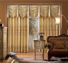 3 Types Of Recommended Drapes For Living Room Beautiful Curtain With Brown Drapery