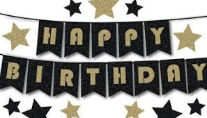 Best Happy Birthday Banner Clipart Printable Pages & DIY
