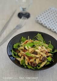 cuisiner simplement salade de pâtes à la roquette et au pesto cuisiner tout