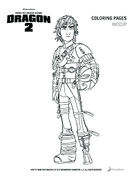 Charmingbeautiful Printable How To Train Your Dragon Cartoon Coloring Pages For Kids