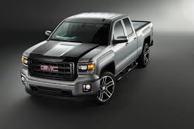 GMC Debuts 2015 Sierra 1500 Carbon Editions, Stylish And Distinct ... Gmc Sierra Pickup Truck Resigned With Trickedout Tailgate Carbon Installing 19992006 Gm 1500 Pickup 15 To 25inch Suspension Lift New Denali Luxury Vehicles Trucks And Suvs Midnight Custom Truck Build Saskatoon Commercial Cars From Wheaton Buick Cadillac Ltd Cars Trucks For Sale In Ottawa On Myers Chevrolet Dave Smith 2500hd All Terrain X Chevrolets Big Bet The Larger Lighter 2019 Silverado Gets Blackout Treatment Elevation Edition Autoweek Chevy Dealer Keeping The Classic Look Alive With This 2015 3500 Crewcad