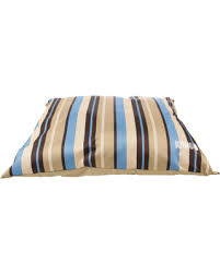 Amazing Deal on Kong Striped Pillow Dog Bed Tan