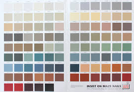 Hardie Tile Backer Board by Color Charts For Painted Nail And Trim Colors Maze Nails