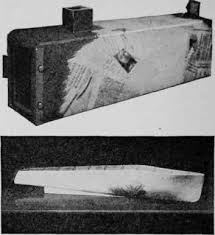 The Astronomical Camera Shown Above Was Covered By Using Newspaper Strips Model Hull
