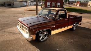 100 Slammed Truck Porkchop 1983 GMC Squarebody Chevrolet Hot Rat Street Rod