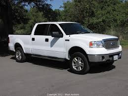 West Auctions Auction: 2006 Ford F 150 Lariat 4 Wheel Drive 4 Door ...