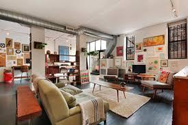 vintage wohnzimmer loft in new york wohnideen einrichten